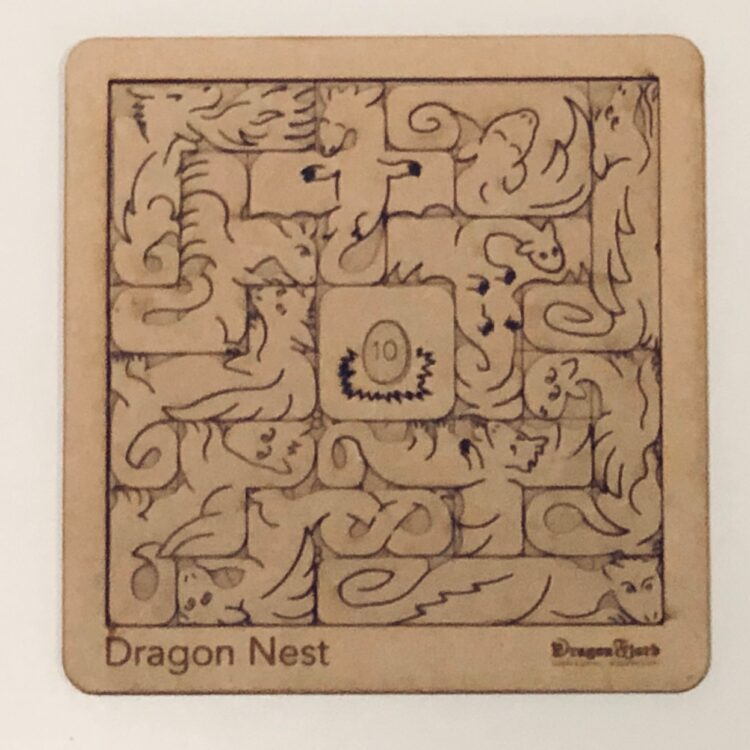 Dragon Nest puzzle by DragonFjord. Many challenges!